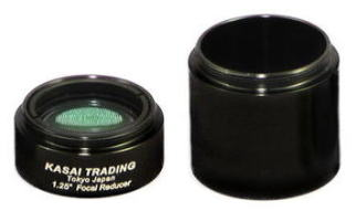 "1.25"" Focal Reducer w/25mm Extension Tube"
