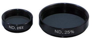 Neutral Density Filters 25%